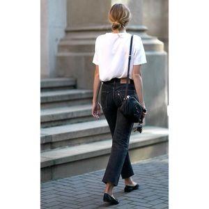 Levi's 501 Black Denim Jeans